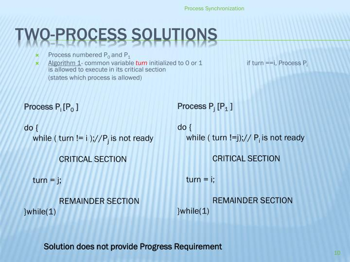 Process numbered P