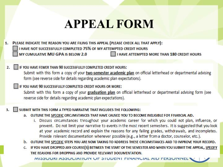 Appeal Form
