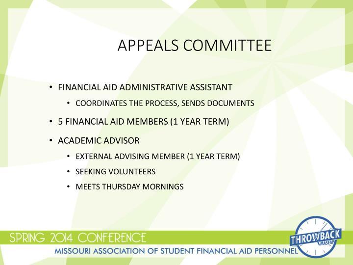 Appeals Committee