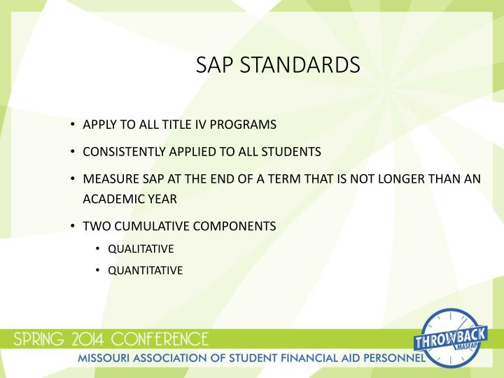 Sap Standards