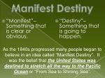 manifest destiny1
