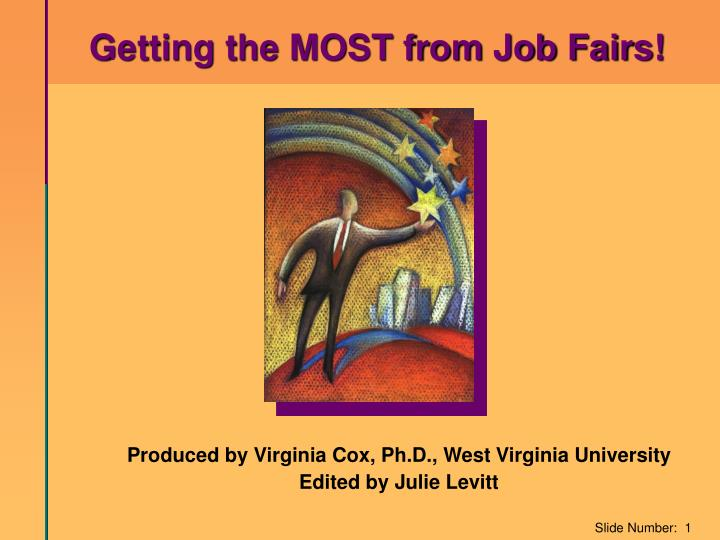 Getting the MOST from Job Fairs!