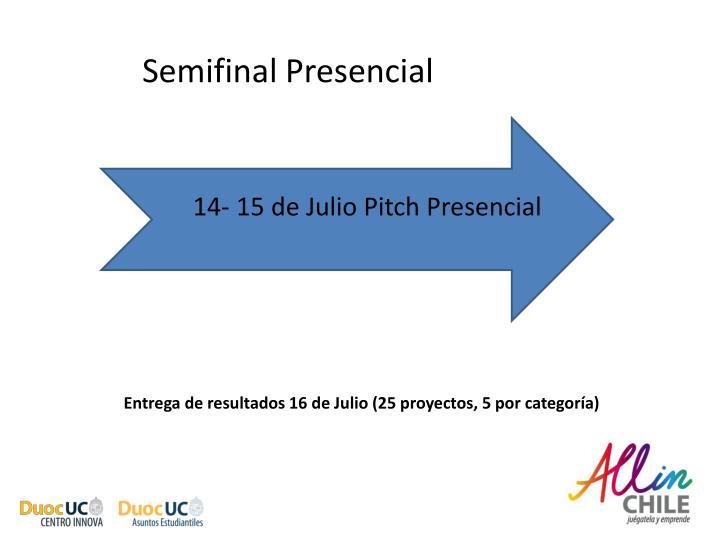 Semifinal Presencial
