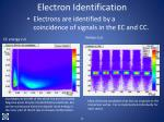 electron identification