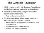 the gingrich revolution