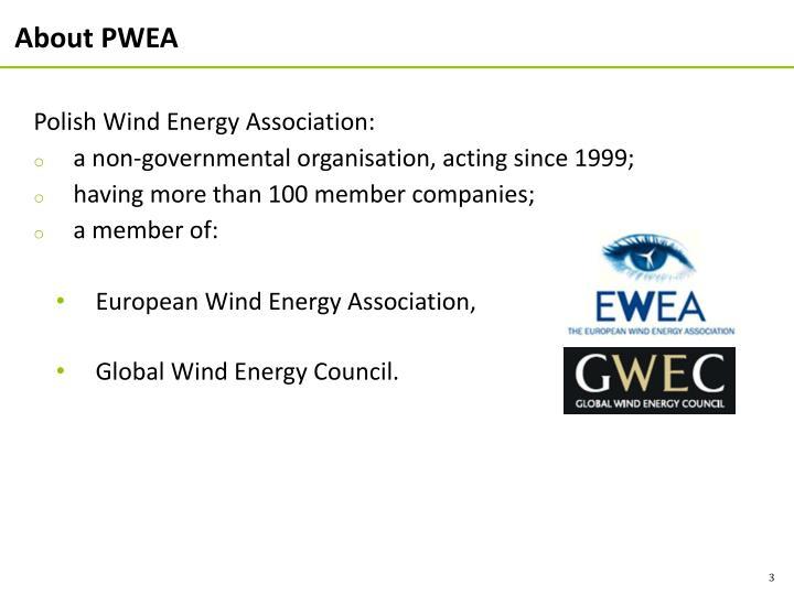 About PWEA