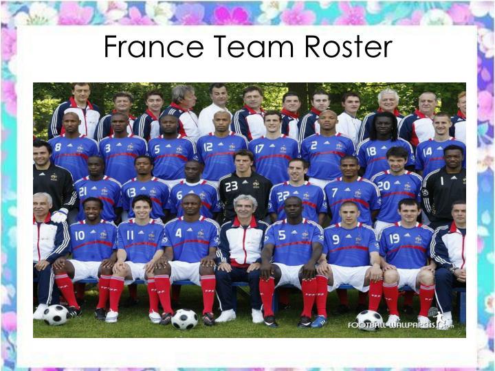 France Team Roster