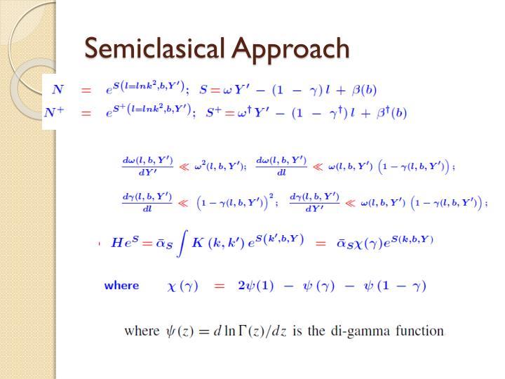 Semiclasical