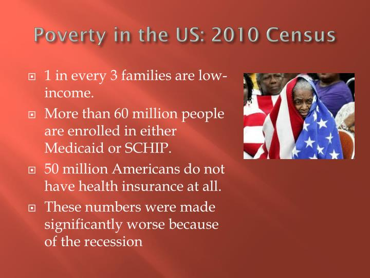 Poverty in the US: 2010 Census