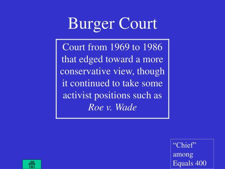 Burger Court