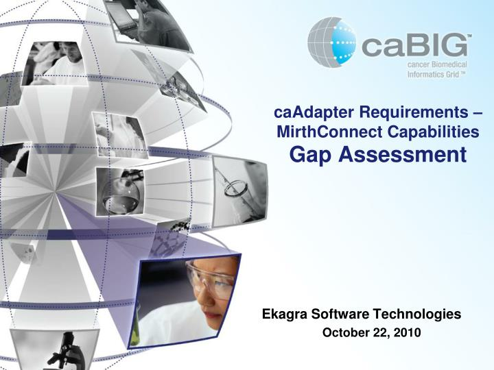 Caadapter requirements mirthconnect capabilities gap assessment