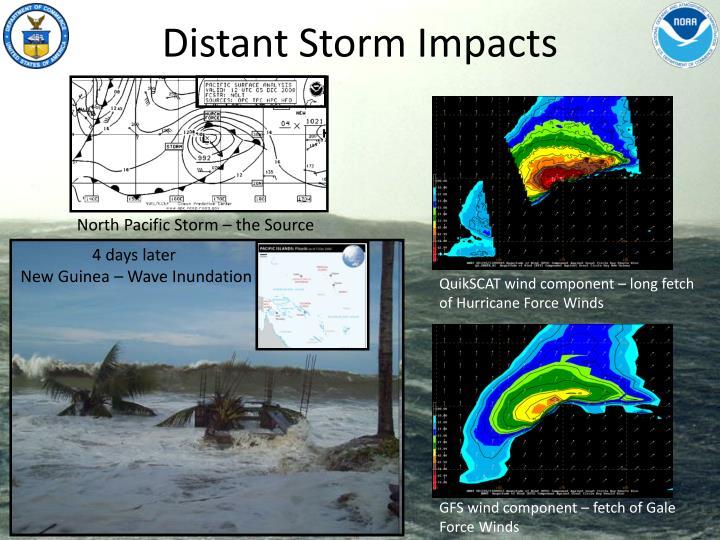Distant Storm Impacts