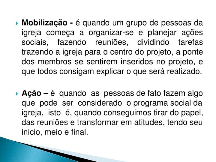 Mobilização -