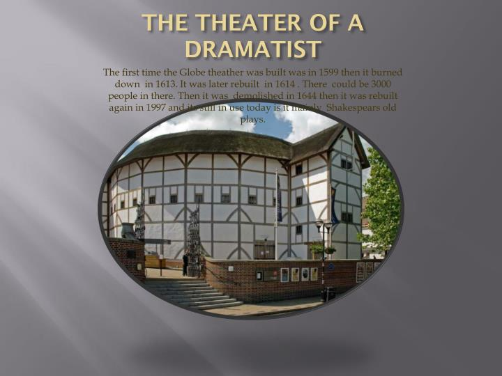 THE THEATER OF A DRAMATIST