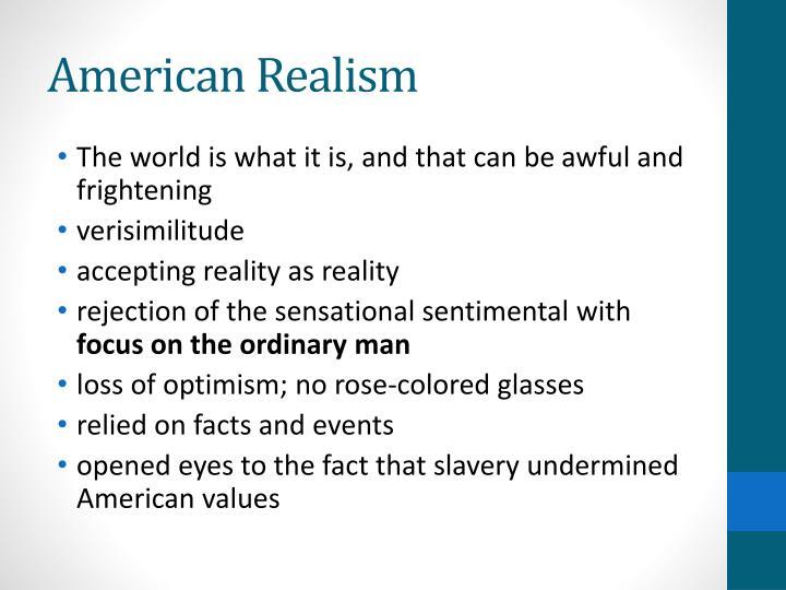 American Realism