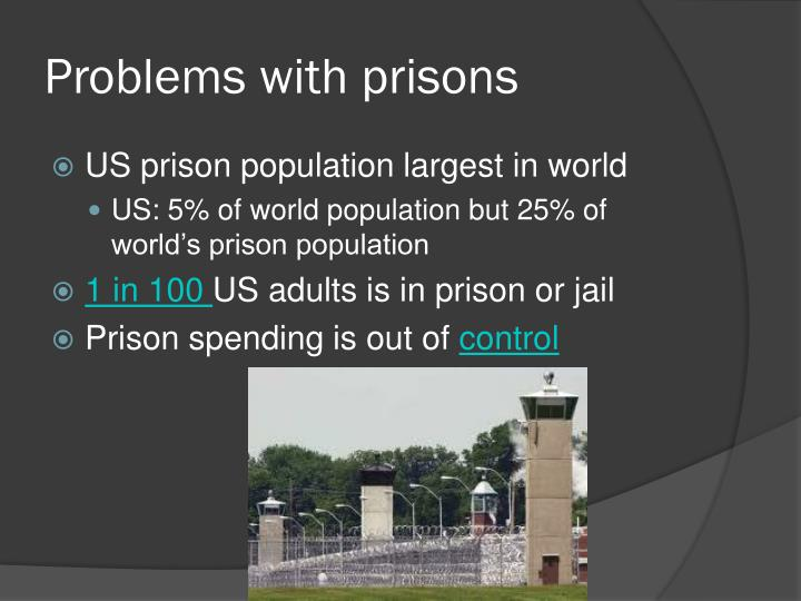 Problems with prisons