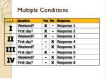 multiple conditions1