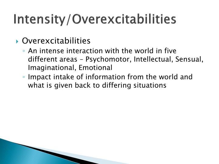 Intensity overexcitabilities