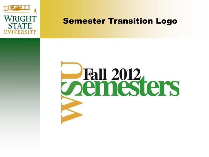 Semester transition logo