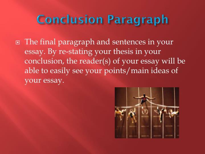 Conclusion Paragraph