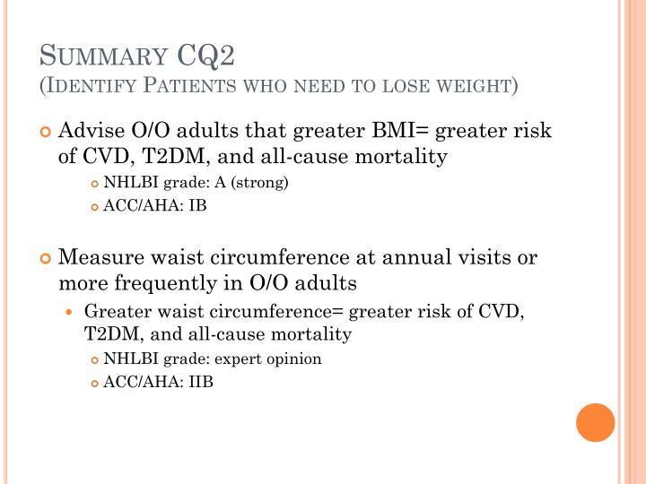 Summary CQ2