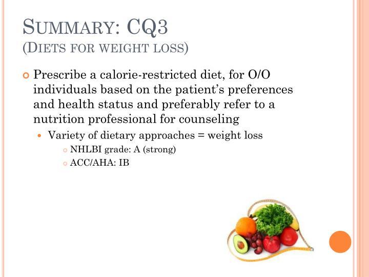 Summary: CQ3
