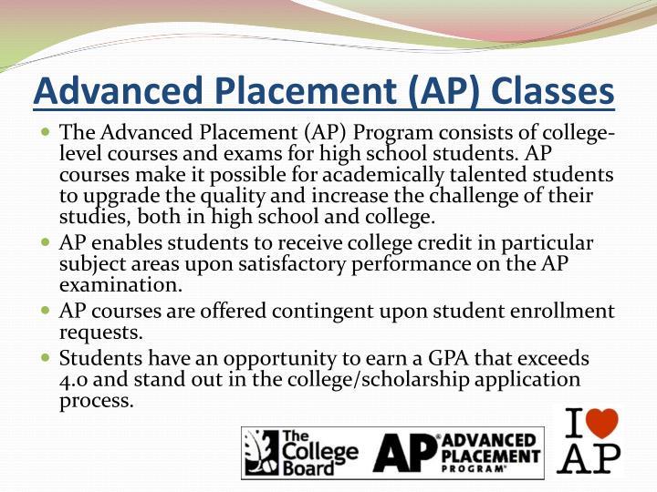 Advanced Placement (AP) Classes