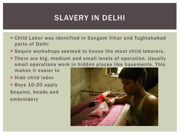 Slavery in Delhi