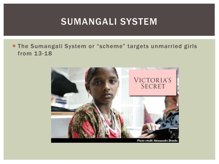 Sumangali system