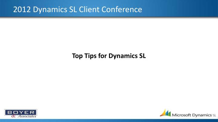 2012 dynamics sl client conference n.