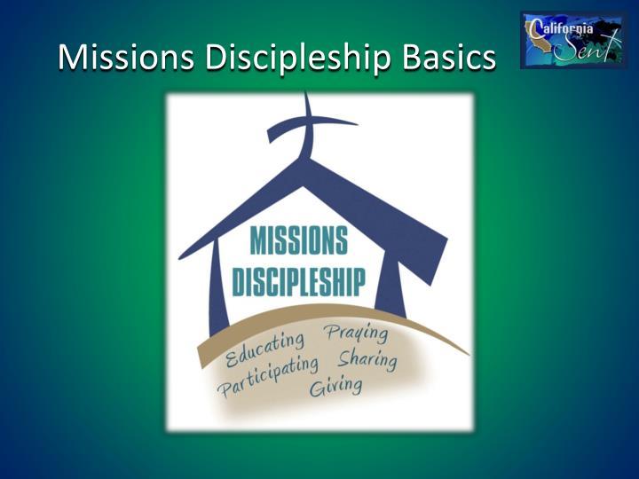 Missions Discipleship Basics