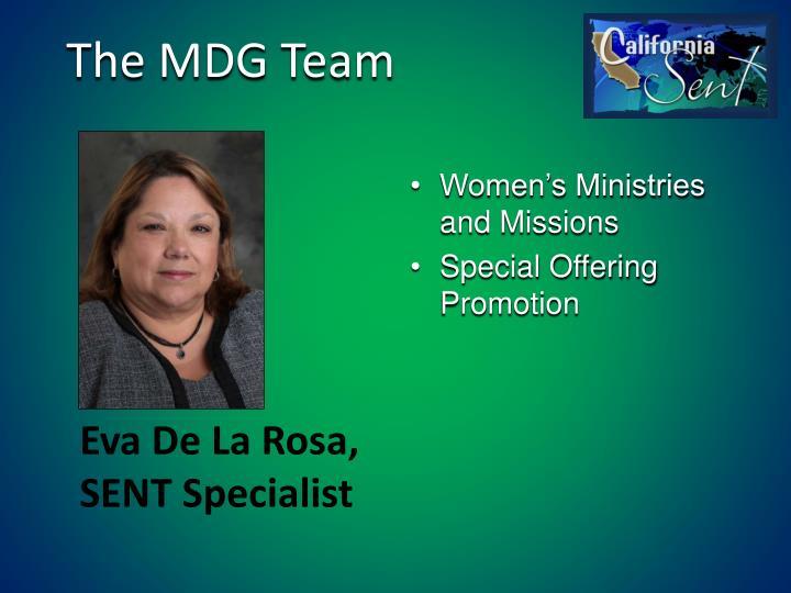 The MDG Team