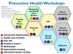 preventive health workshops