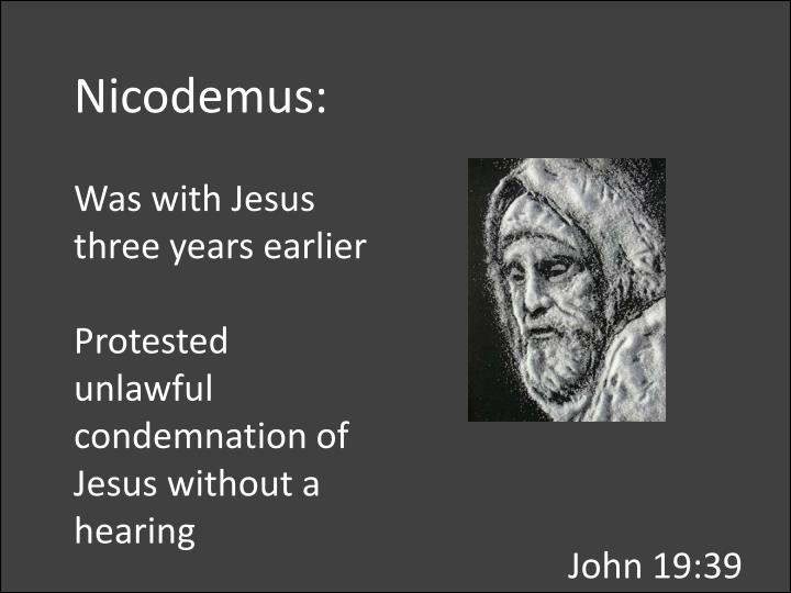 Nicodemus: