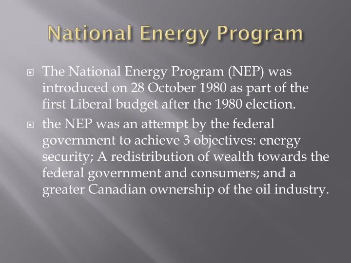 National Energy Program
