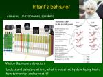 infant s behavior