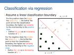 classification via regression1