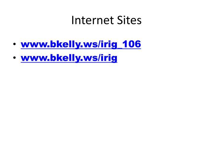 Internet sites