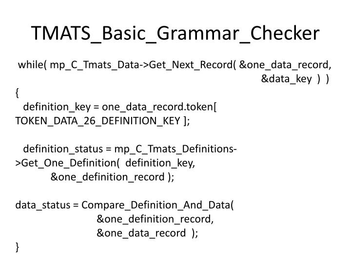 TMATS_Basic_Grammar_Checker
