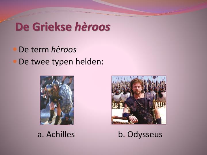 De Griekse