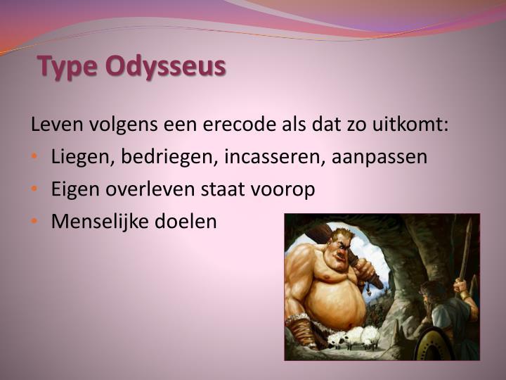 Type Odysseus