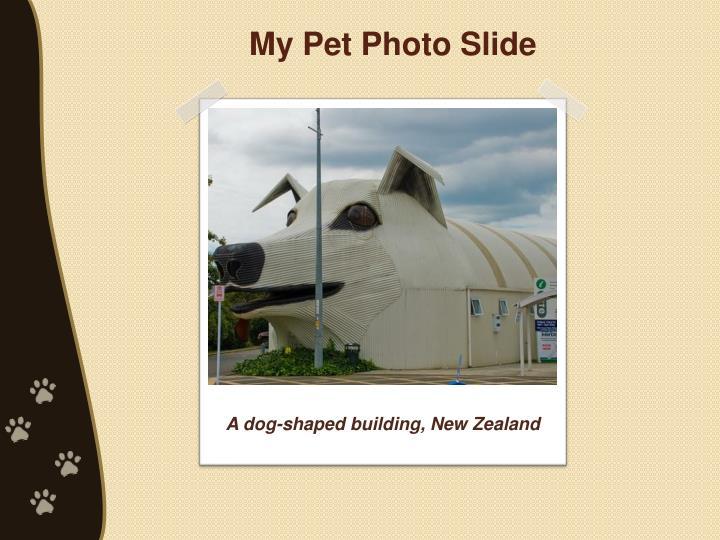 My Pet Photo Slide
