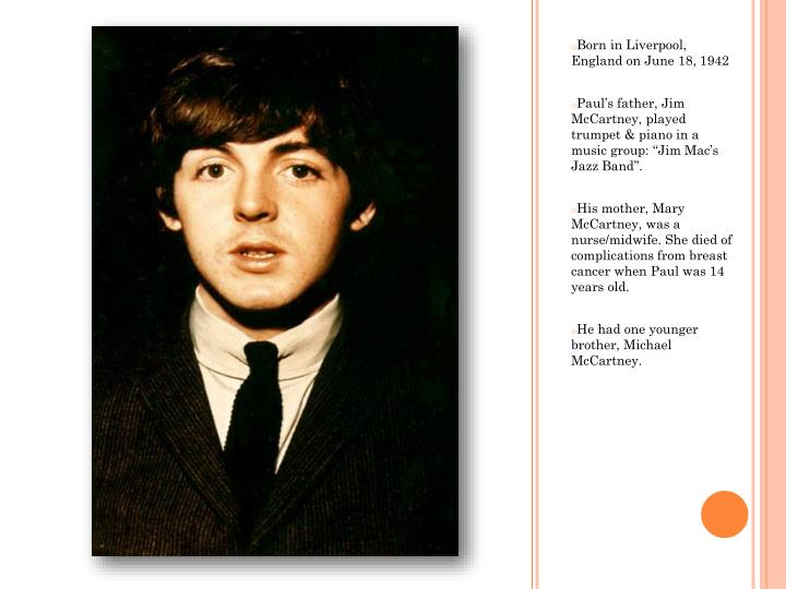 Born in Liverpool, England on June 18,