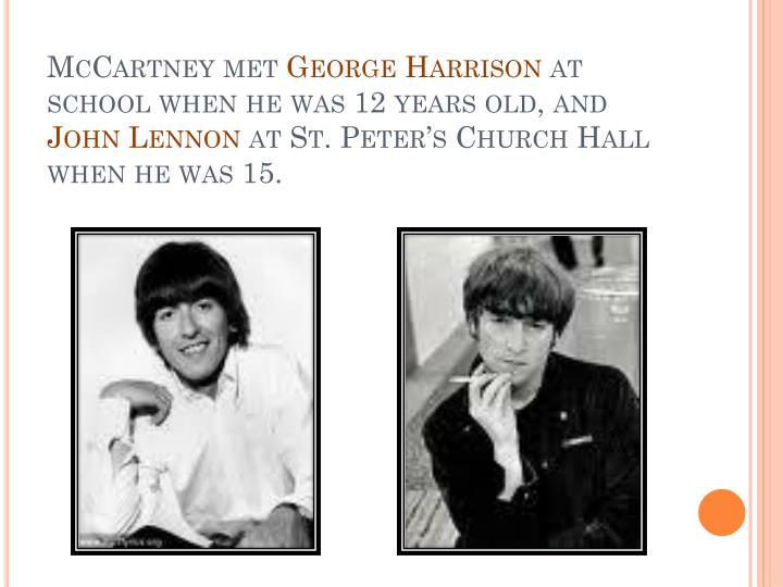McCartney met