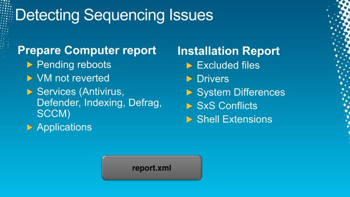 Detecting Sequencing Issues