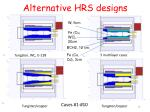alternative hrs designs