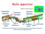 mu2e apparatus
