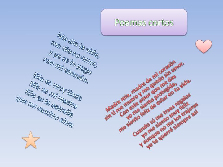 Poemas cortos