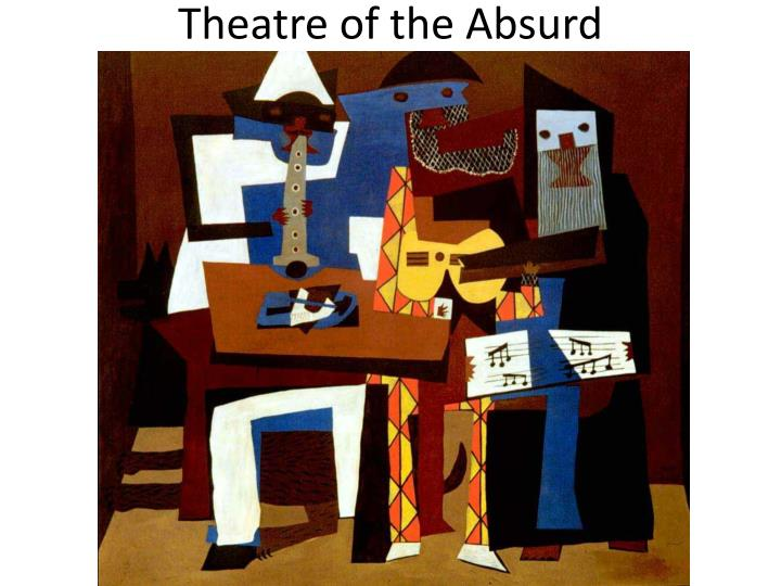 theatre of the absurd n.