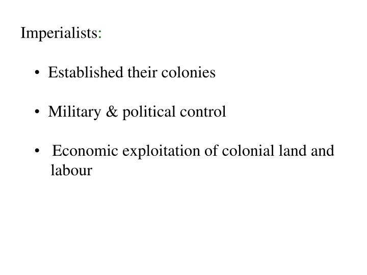 Imperialists